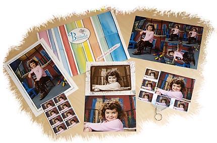 Kindergarten Fotomappe